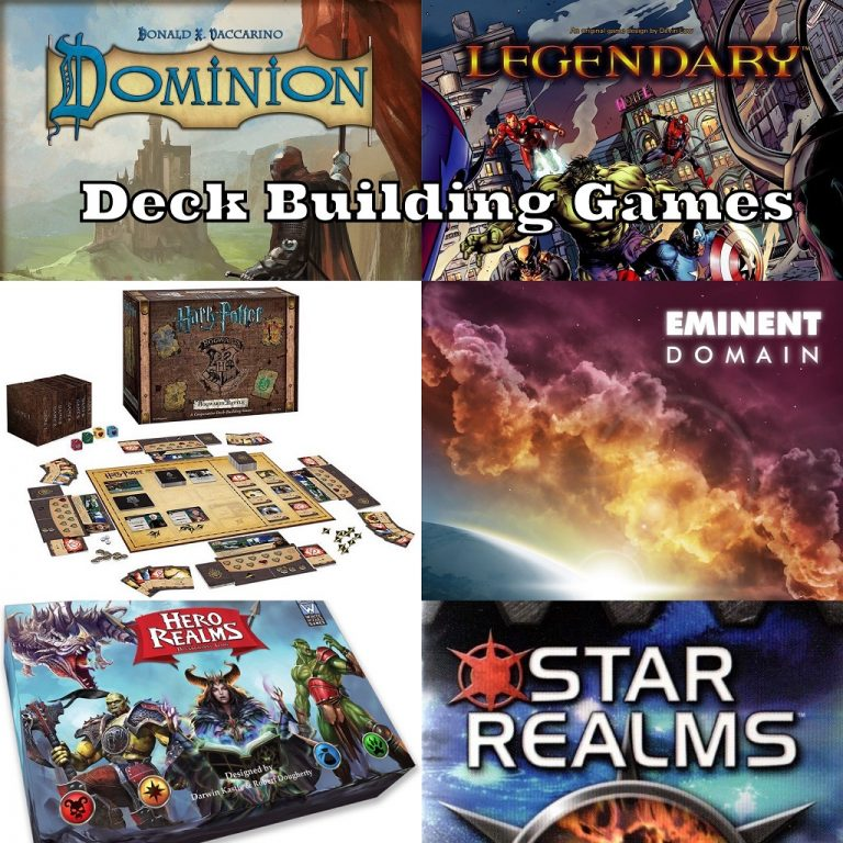 Episode 29: Deck Building Games